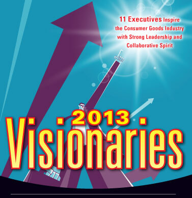 Inspirage would like to congratulate customers selected as 2013 Consumer Goods Visionaries